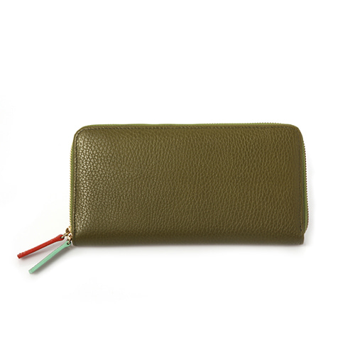 Zip Around Wallet-Italian Leather