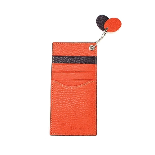Vertical Card Case - Italian Leather